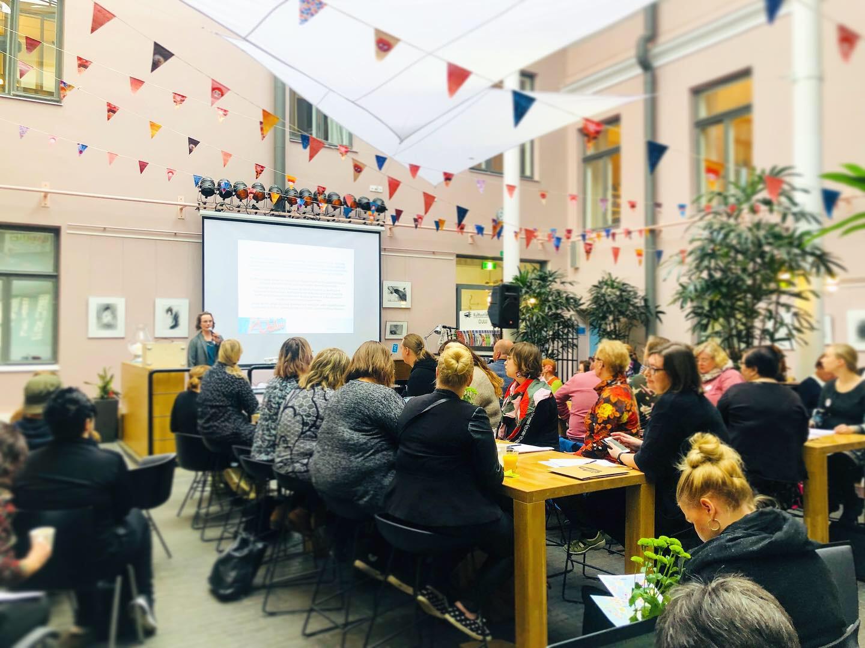 Förbundet för barnkulturcenter i Finland samlades i Uleåborg